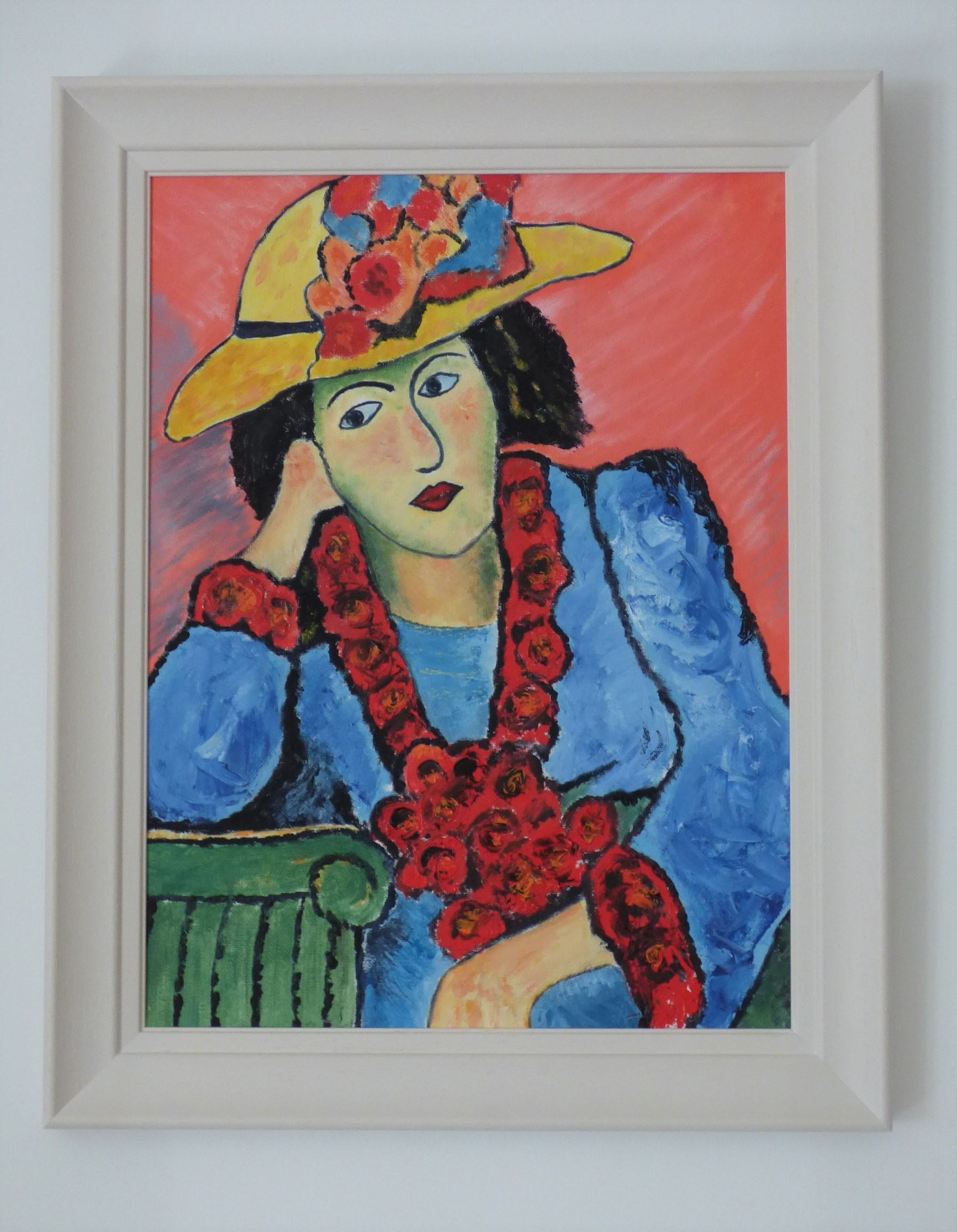 Lady in Straw Hat, 2019