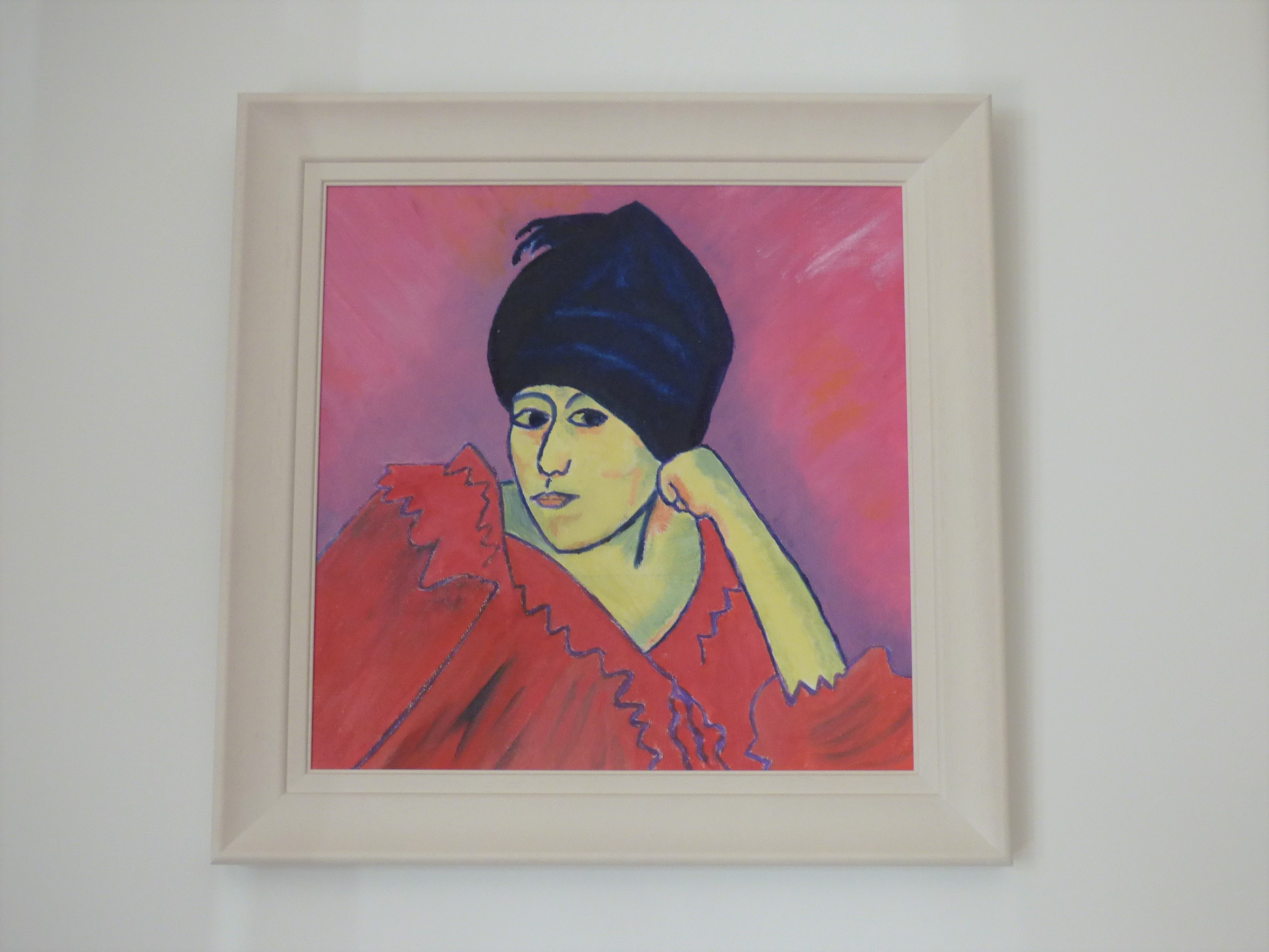 Lady in Blue Turban, 2019