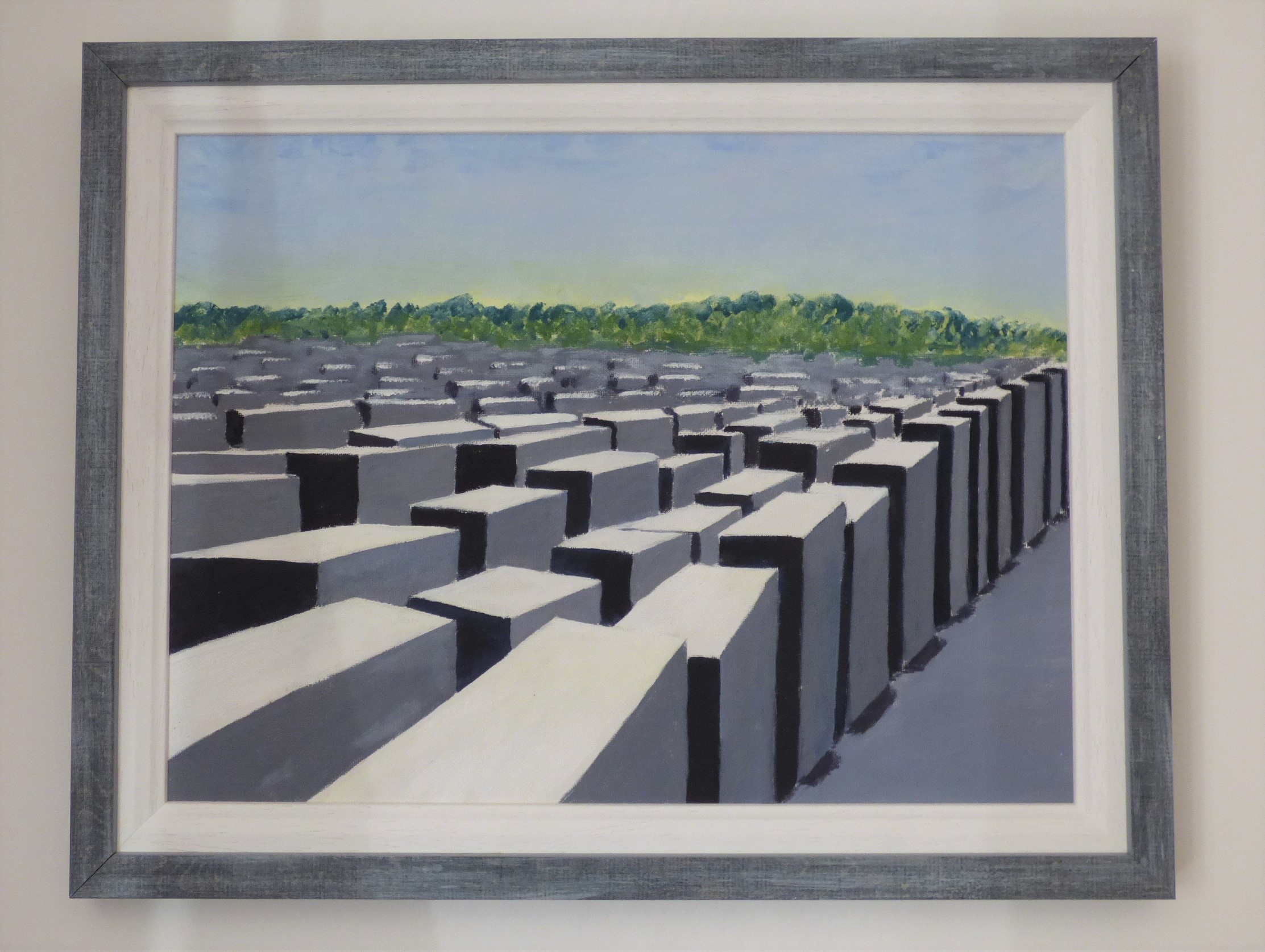 Berlin Holocaust Memorial, 2018