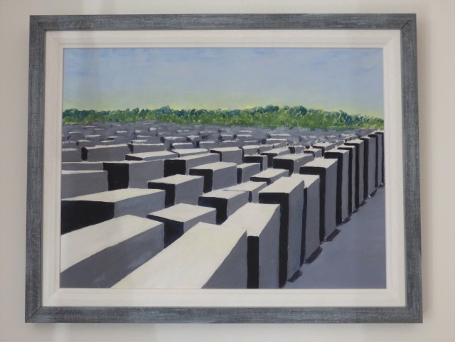 Berlin Holocaust Memorial, 2018